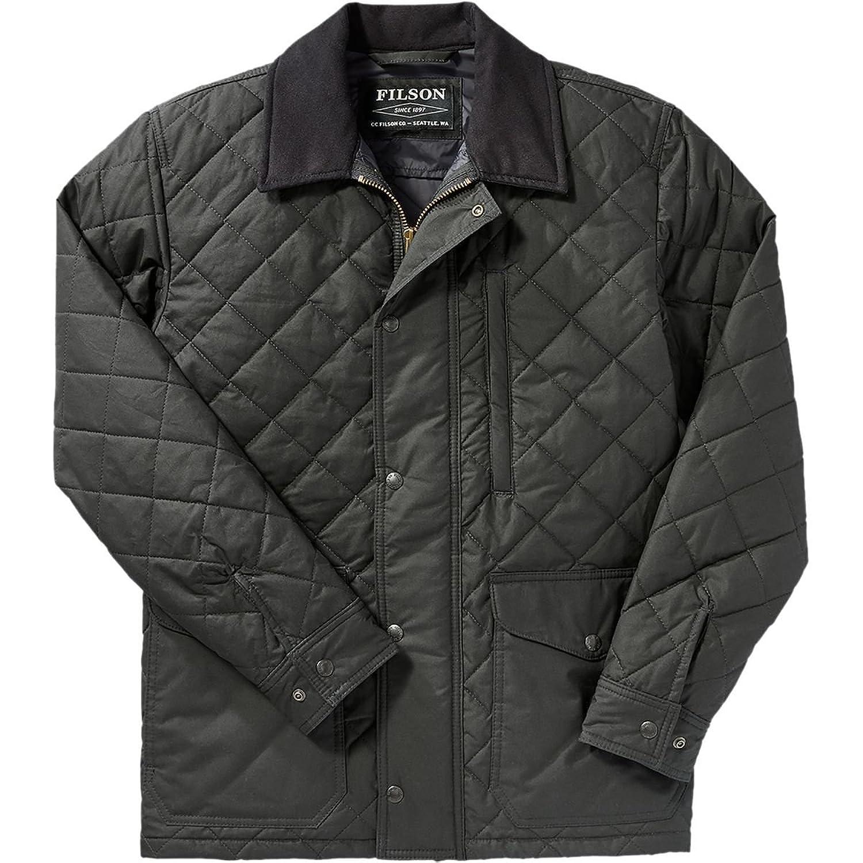 フィルソン メンズ ジャケット&ブルゾン Quilted Mile Marker Jacket [並行輸入品] B079FKTY7J S