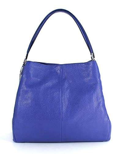 Coach Madison Small Phoebe Shoulder Bag 26224 (Silver Lacquer Blue)   Handbags  Amazon.com 4d900a55fe52c
