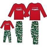Lantch Christmas Family Matching Pajama Set Men/Women/Kids Sleepwear