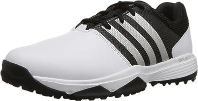 adidas black golf shoes