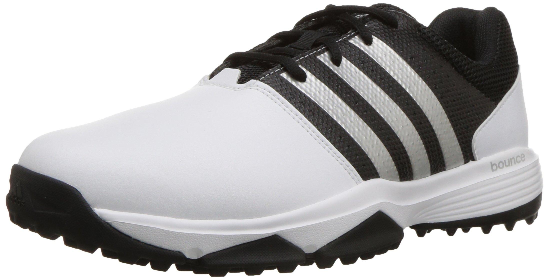 adidas Men's 360 Traxion WD Golf Shoe, Footwear White/Footwear White/CORE Black, 11.5 W US
