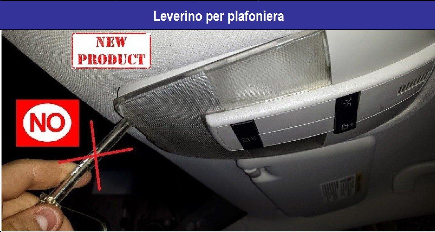 Plafoniere Universali Per Auto : Leverino per plafoniere auto camion amazon e moto