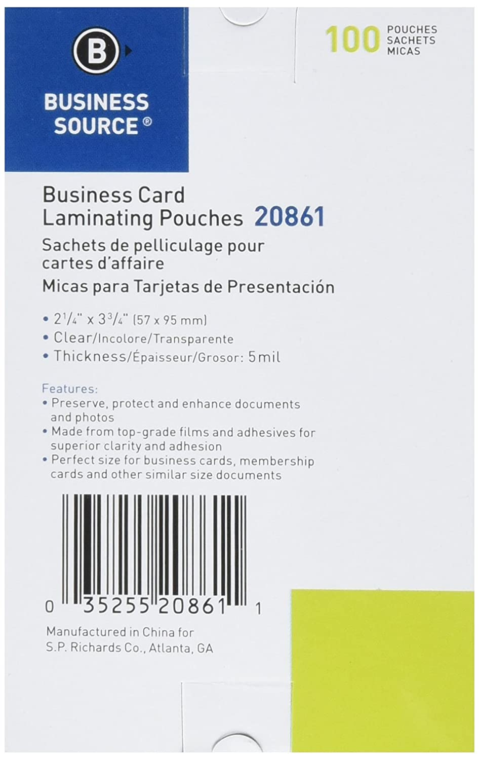 Famous Laminating Business Cards Ideas - Business Card Ideas ...