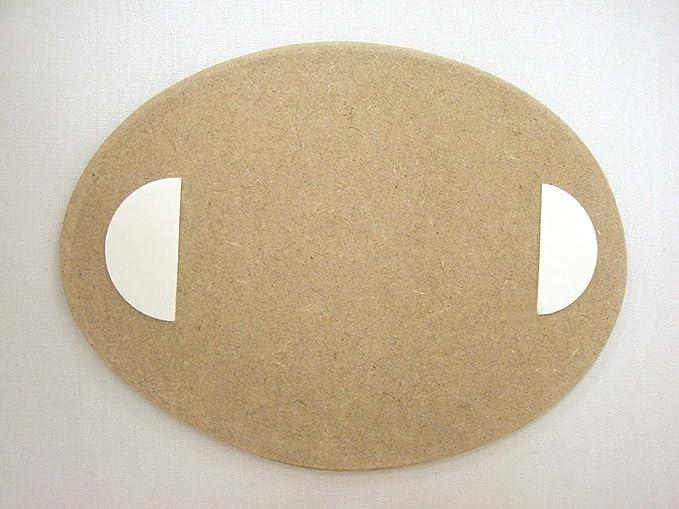 Desconocido Placa Madera Adhesiva Cartel Puerta Letrero Oval ...
