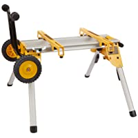 Deals on DeWALT DW7440RS Heavy Duty Rolling Job Site Table Saw Stand