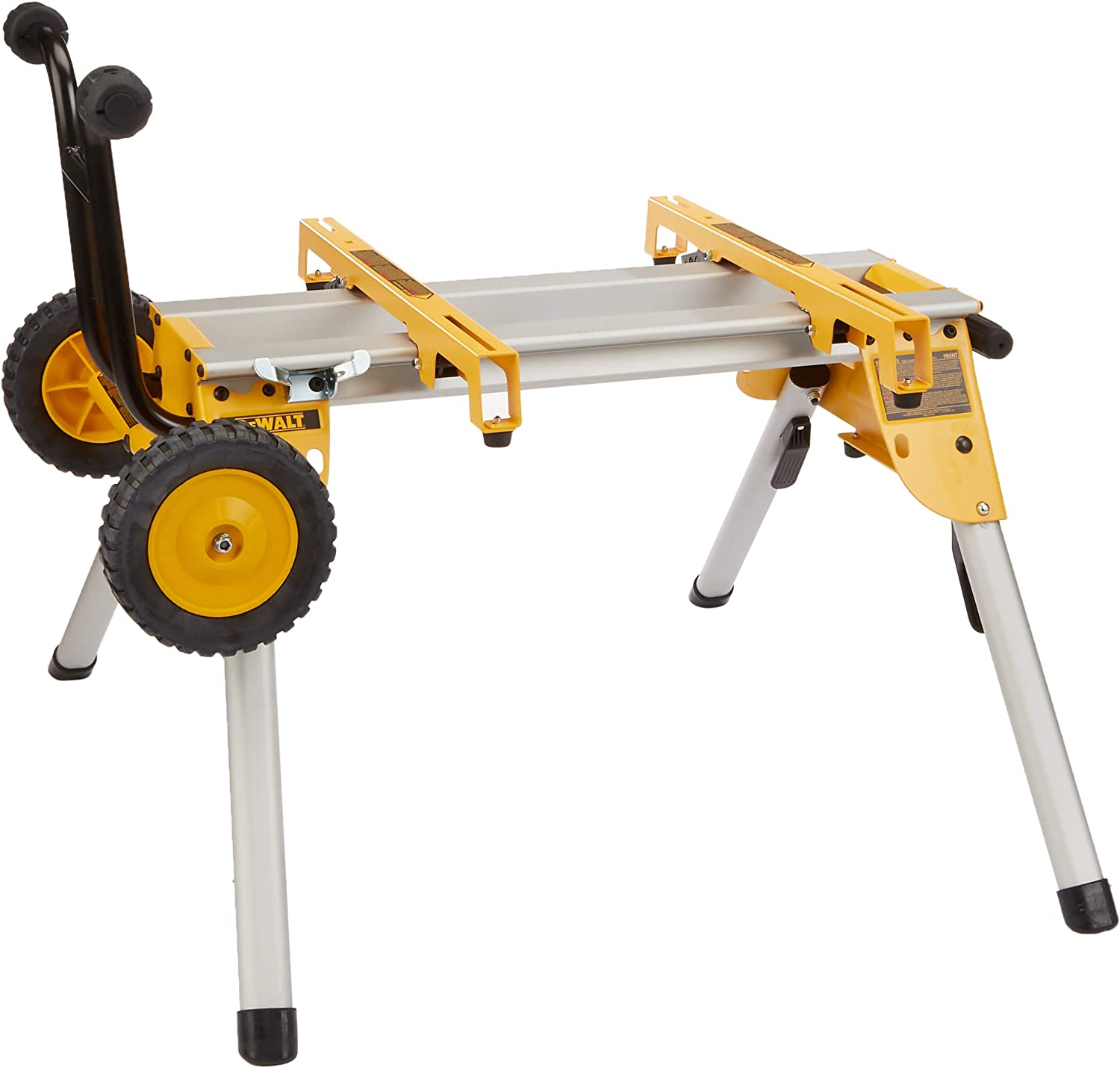 Best miter saw stand: DEWALT DW7440RS Mobile/Rolling Table Saw Stand