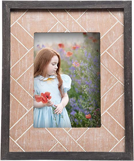 Amazon Com Foreside Home And Garden 5x7 Heritage Photo Frame
