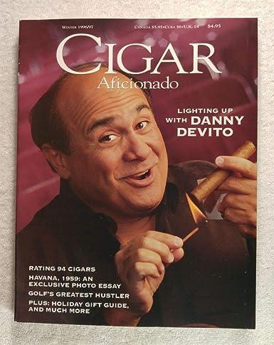 Danny Devito Cigar Aficionado Magazine Winter 1996