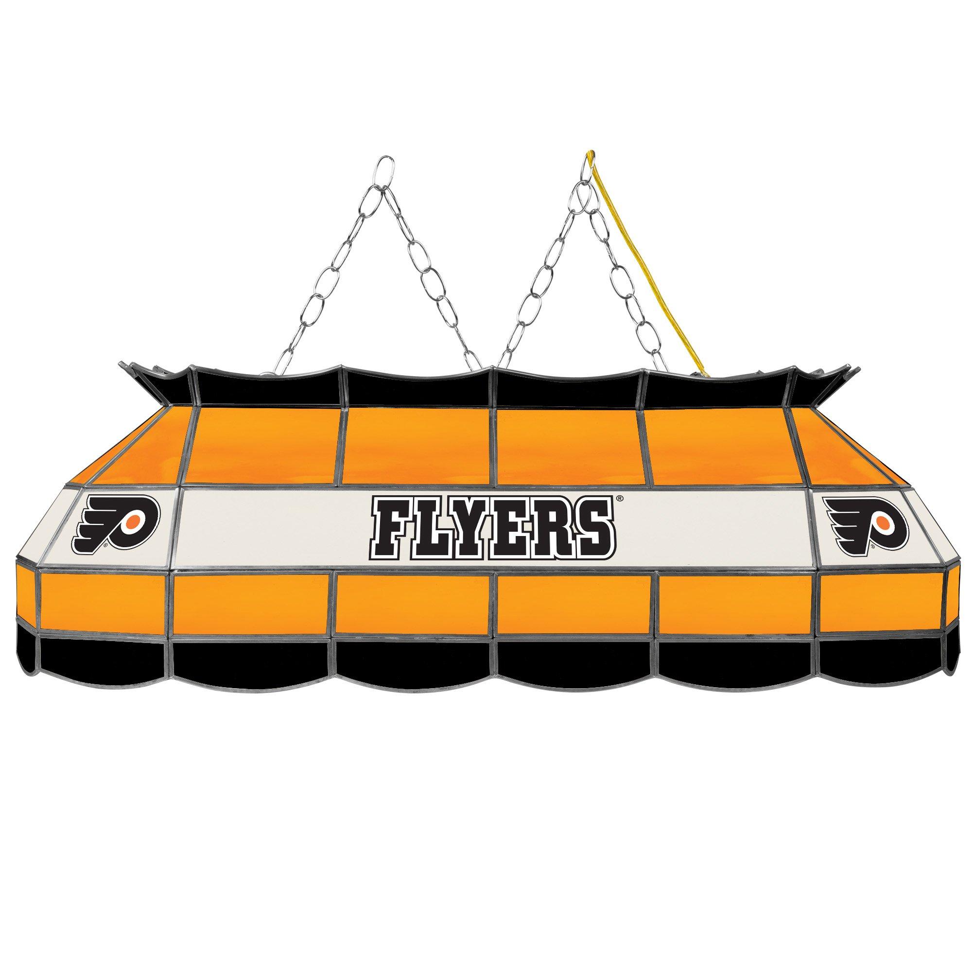 Trademark Gameroom NHL Philadelphia Flyers 40'' Handmade Tiffany Style Lamp