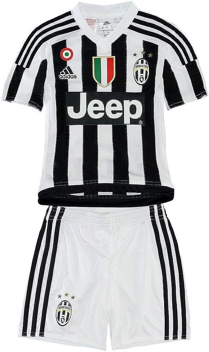 adidas Juventus Kids Home Kit 2015 – 2016, 2-3 Years, Your Name ...