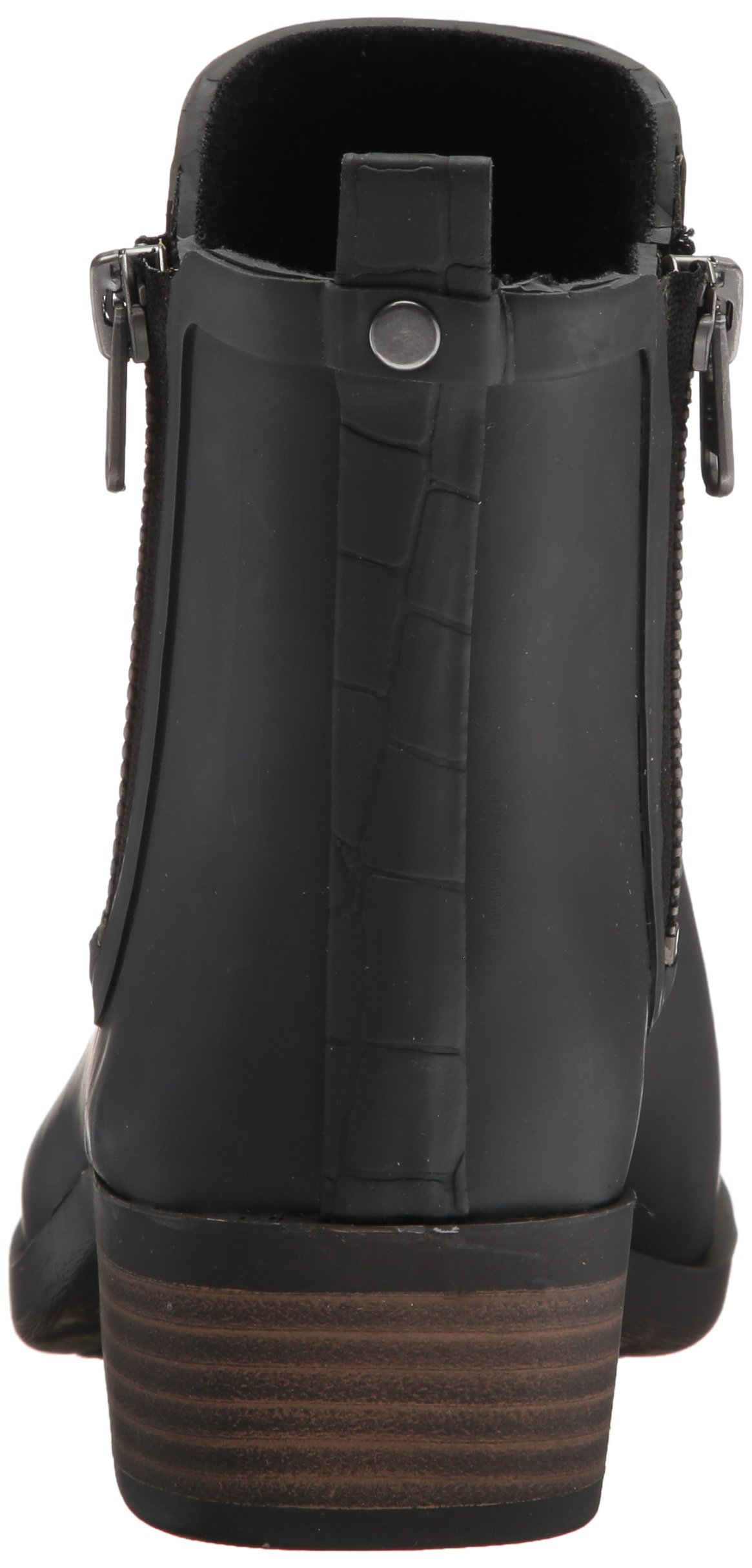 Lucky Brand Women's Baselrain Rain Boot, Black Crocodile, 10 Medium US by Lucky Brand (Image #2)