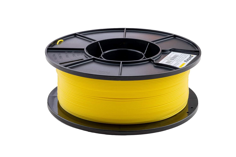 Schwarz JANBEX PLA Filament 1,75 mm 1kg Rolle f/ür 3D Drucker oder Stift in Vakuumverpackung