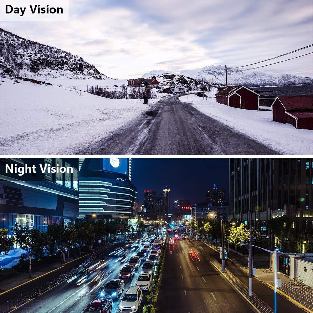 WDR Vision Nocturne Cam/éra Voiture avec Capteur-G Flybiz Mini Full HD 1080P Cam/éra Embarqu/ée Voiture Grand Angle DASHCAM Voiture Appareil Photo Int/égr/é 170/° Enregistrement en Boucle