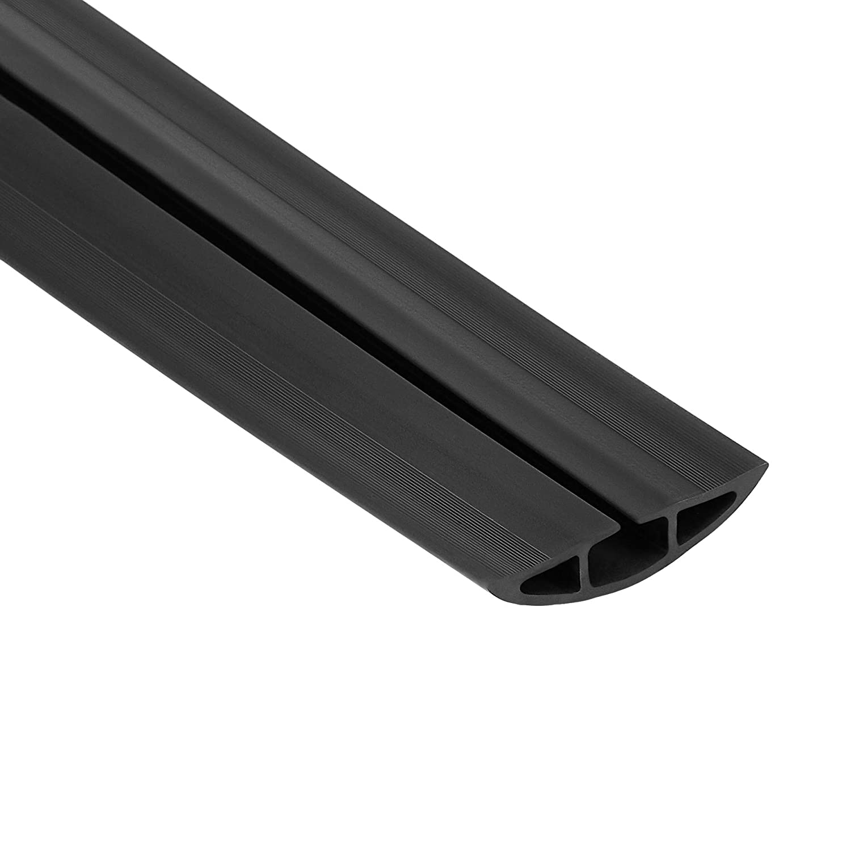 Basics 3 m Nero Passacavo a pavimento in gomma