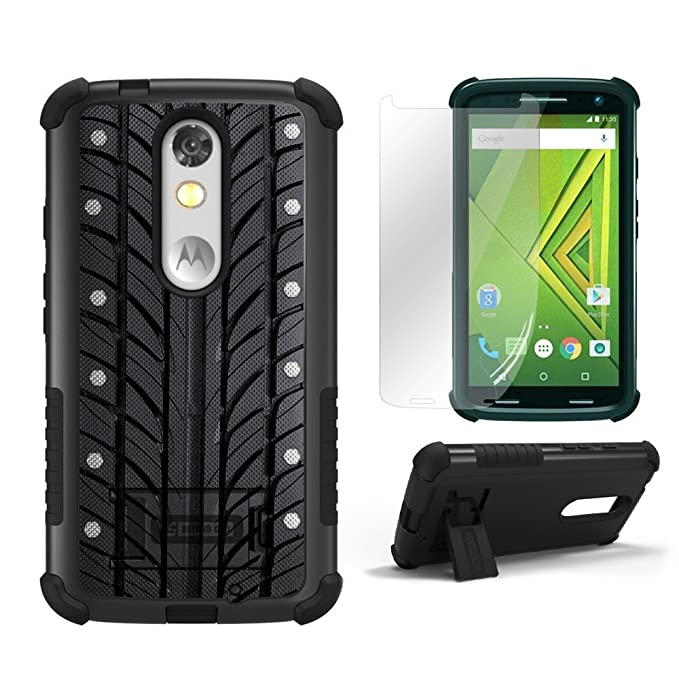 Droid Turbo 2 Cases,Kinzie XT1585 Beyond Cell®[Dirtproof]High Impact Armor