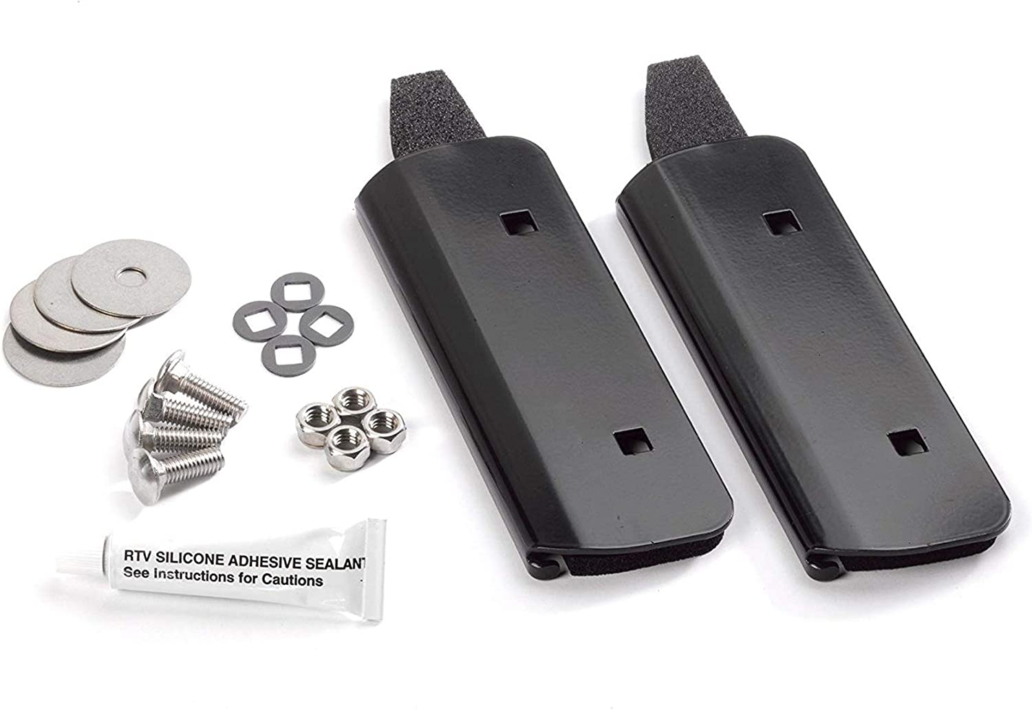 YAKIMA - Bolt TopLoader, Bracket for Vehicles with No Rain Gutters, Works with1A Raingutter Towers or Q Towers, Set of 2
