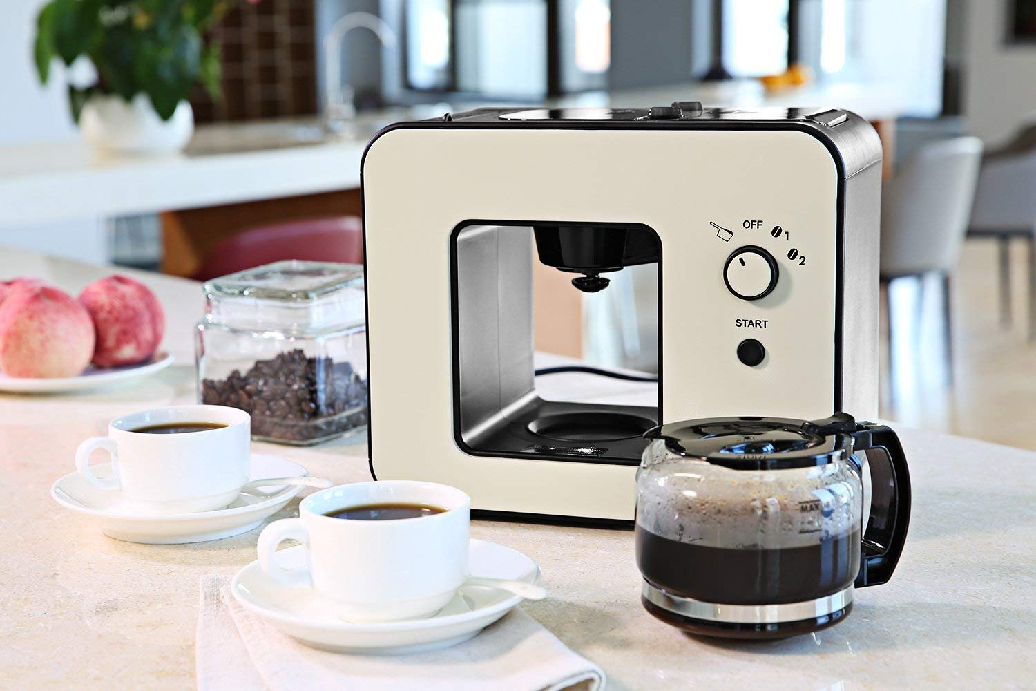 4 Cups BREW Automatic Electric Coffee Makers Machines with Over-Heat Protective