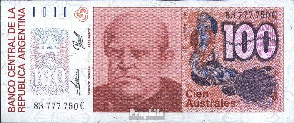 Argentina Pick-No.: 327c 1985 100 Australes (Banconote ) Prophila Collection