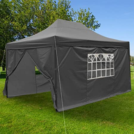 F Fellie Cover Heavy Duty 3x45m Waterproof Pop Up Gazebo Wedding