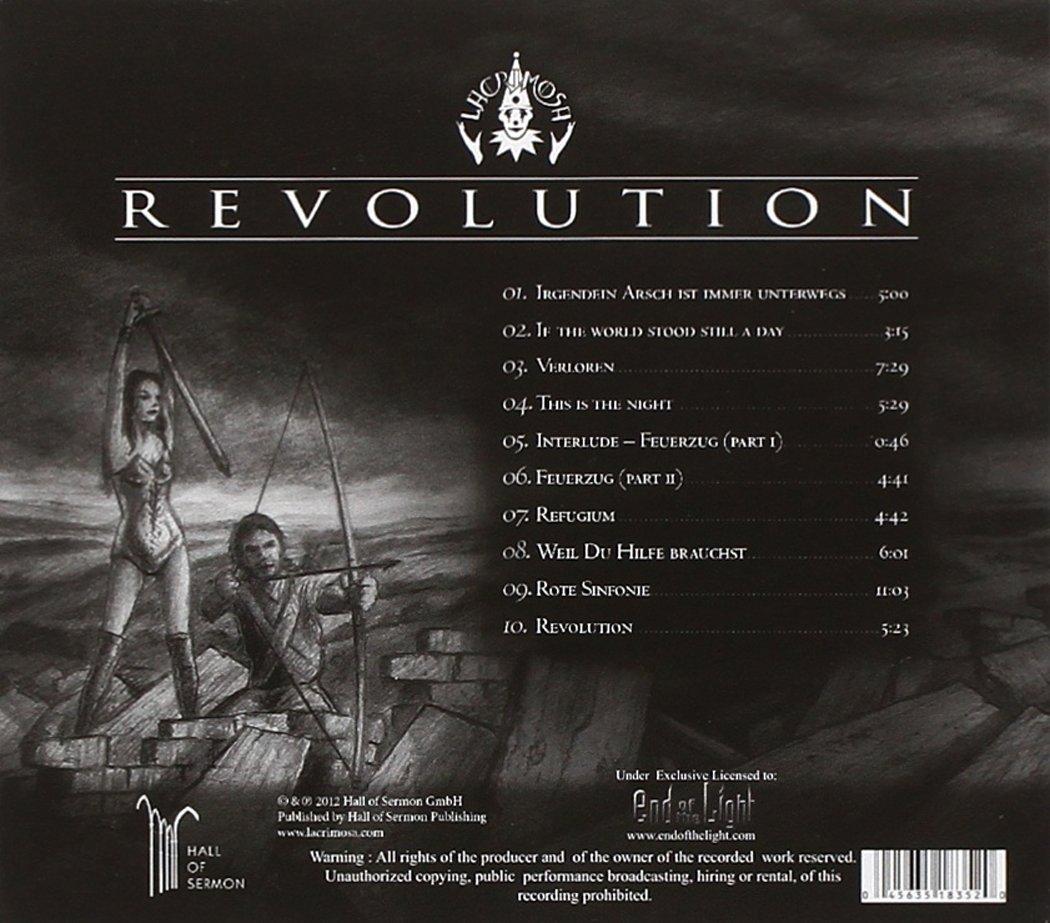 artist: lacrimosa title of album: revolution