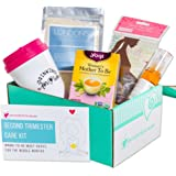 Ecocentric Mom Pregnancy Gift Box - Second Trimester Maternity Gifts With Non-Toxic, Organic, Natural & Unique Products - Sonogram Frame, Belly/Baby Oil, Foot Soak, Pregnancy Tea And Travel Mug.