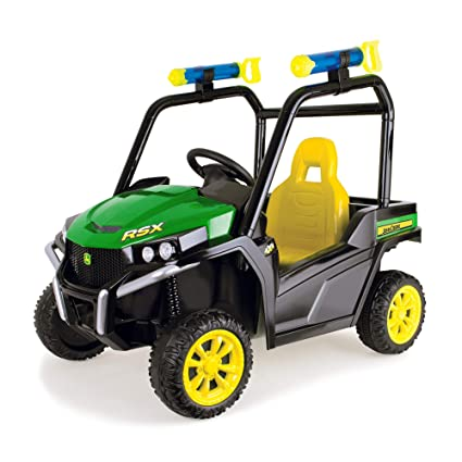 Battery Operated Ride On Toys >> Amazon Com John Deere Gator Ride On Toys Green Toys Games