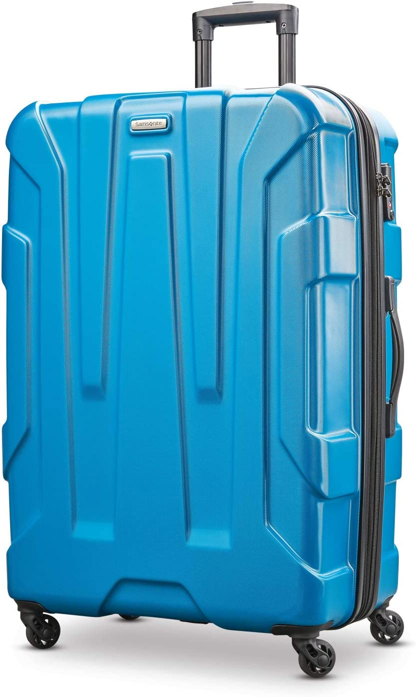 Samsonite Centric Hardside Expandable Luggage with Spinner Wheels, Caribbean Blue