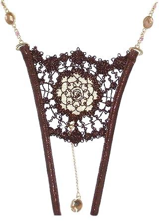 b6df5788870 Lola Luna Katia Open Thong Size L (UK 12)  Amazon.co.uk  Clothing
