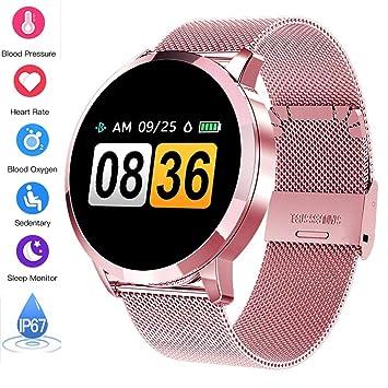 Smart Watch Q8 Hombres Moda Fitness Tracker Monitor de ...