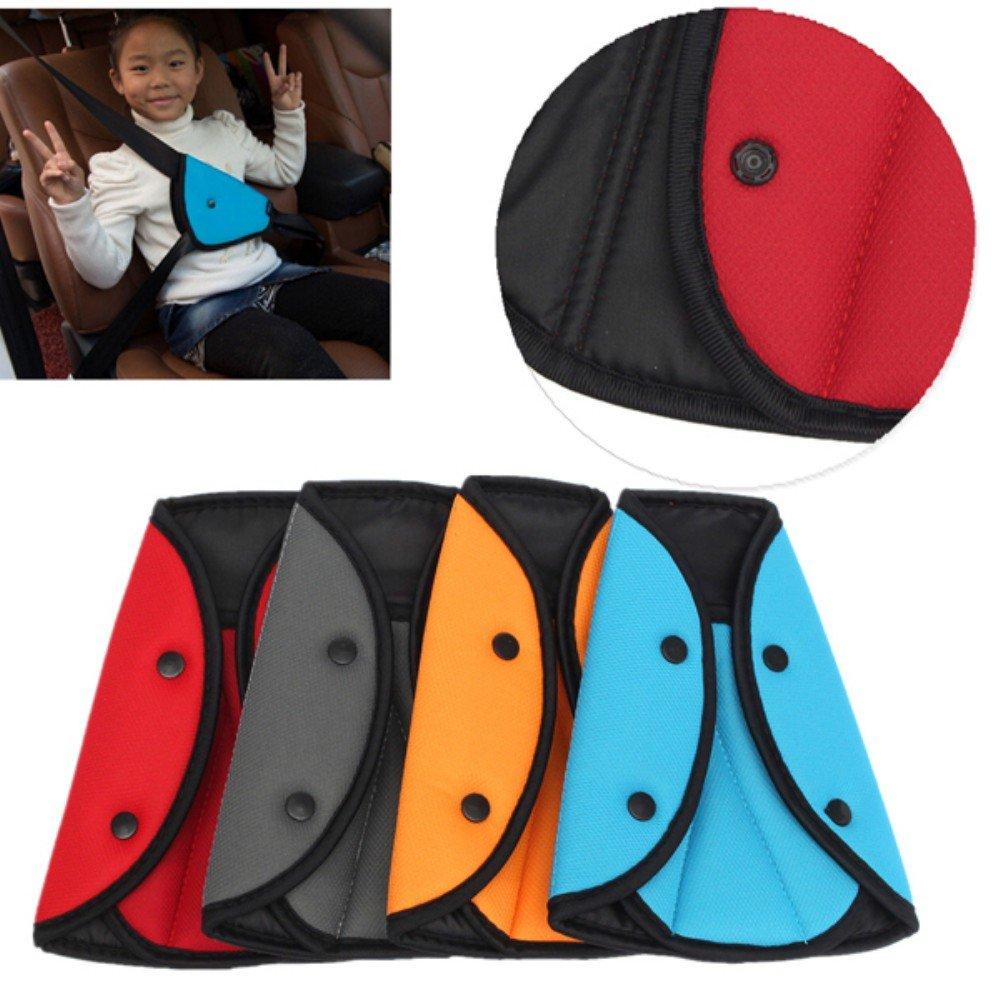 Kungfu Mall Baby Kid Seat Belt Seatbelt Clip Seat Belt Adjustable Knob Belt Child Car Safety Cover Harness Strap Cars Adjuster Pad