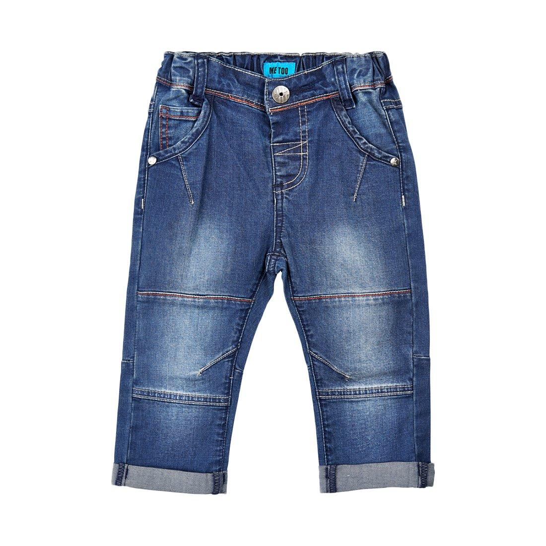 Me Too Baby Boys Denim Roll Up Pants