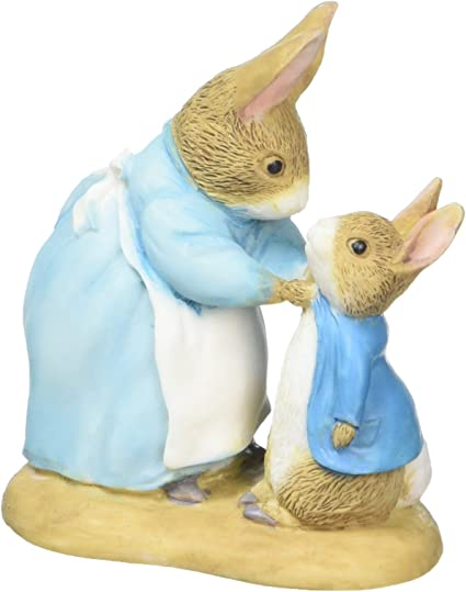 Border Fine Arts Beatrix Potter Peter Rabbit Mrs Rabbit Mini Figurine