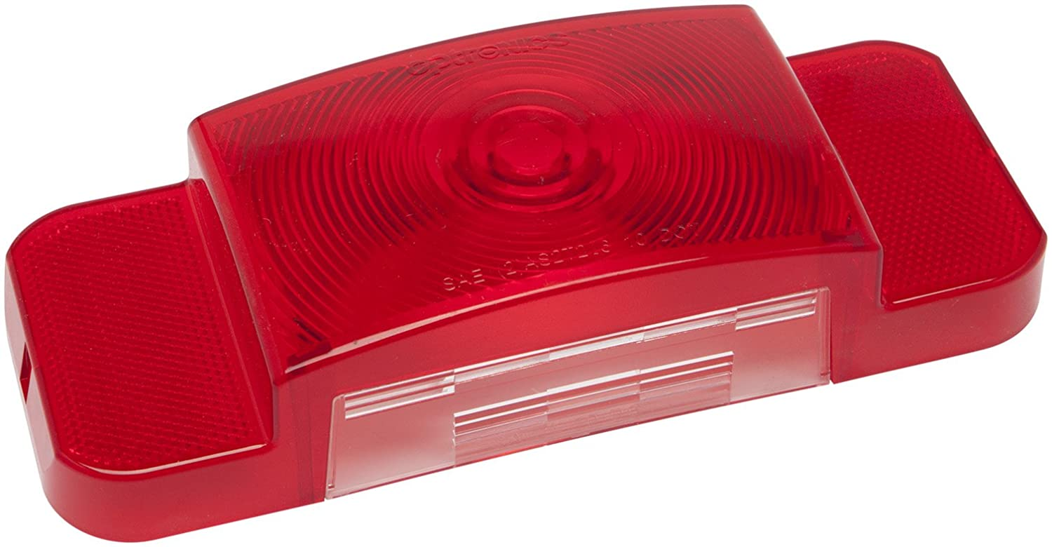 Optronics AST61BP Tail Light Lens for Driver Side, Red