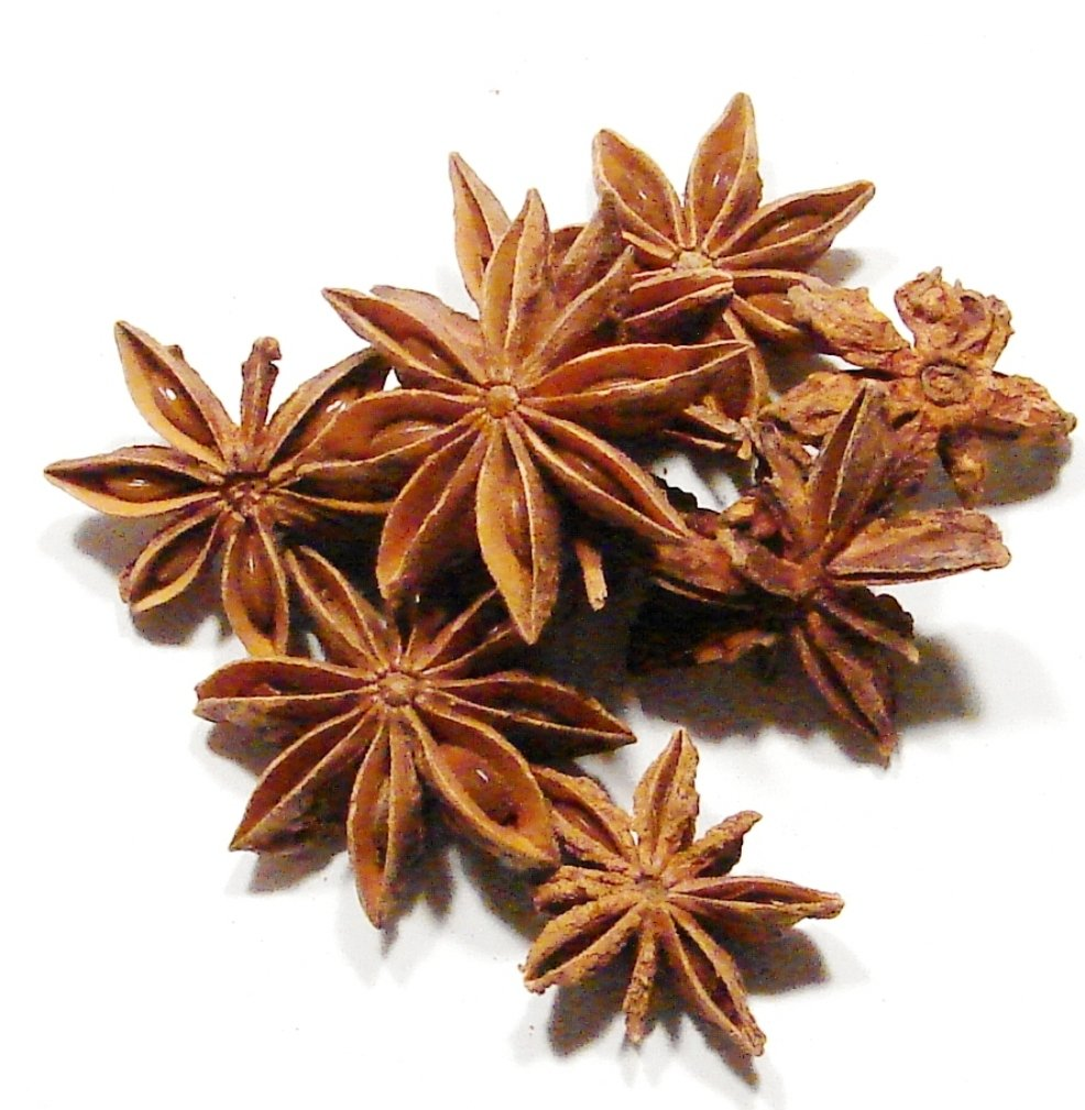 Star Anise, Whole-2Lb-Great Warming Spice, Similar to Licorice, Nutmeg, and Clove