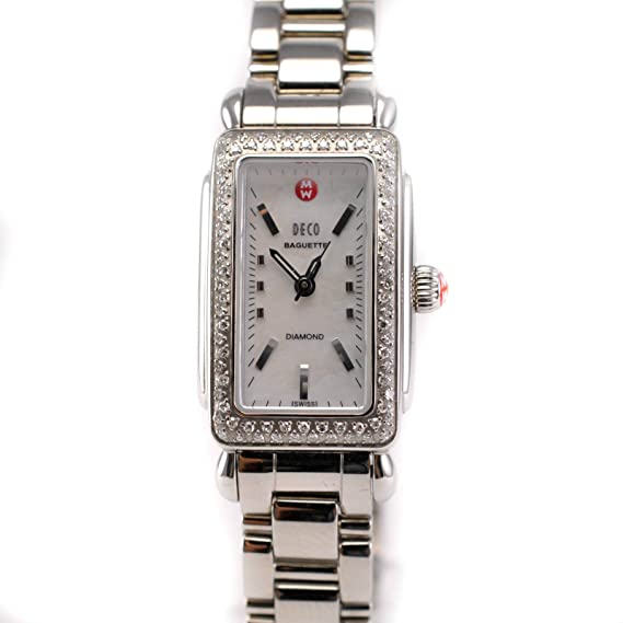Michele Deco Cuarzo Mujer Reloj mw06r01 a1025 (Certificado) de Segunda Mano