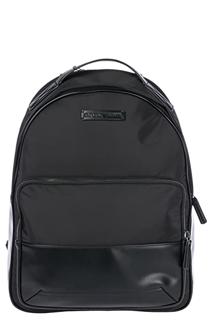 Emporio Armani Nylon Backpack, Black  Amazon.co.uk  Shoes   Bags 985bca1500