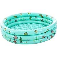 Piscina inflable para niños de 48 pulgadas, piscina de 3 cámaras, piscina para niños pequeños, piscina infantil, piscina…