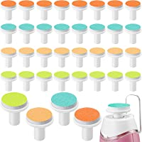 36 Pieces Baby Nail File Pads Nail Trimmer Replacement Pads Electric Baby Nail Grinding Heads for Standard Electric Kid…