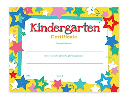 best paper greetings kindergarten certificates 60 pack diplomas