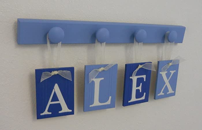 Amazoncom Baby Boys Gifts Hanging Nursery Wall Letters