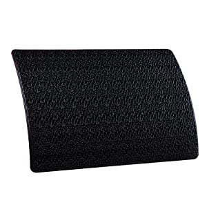 "Extra Thick Sticky Anti-Slip Gel Pad, Mini-Factory Premium Universal Non-Slip Dashboard Mat for Cell Phones, Sunglasses, Keys, Coins and More - Black (Large Size: 7.8"" X 5.5"")"