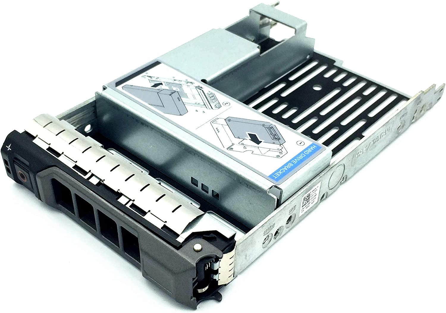 """3.5"""" F238F SAS/SATA Hard Drive Tray Caddy with 2.5"""" HDD Adapter SSD SAS SATA Bracket for Poweredge R320, R420, R720, T320, T420, T620 Servers with Screws"""