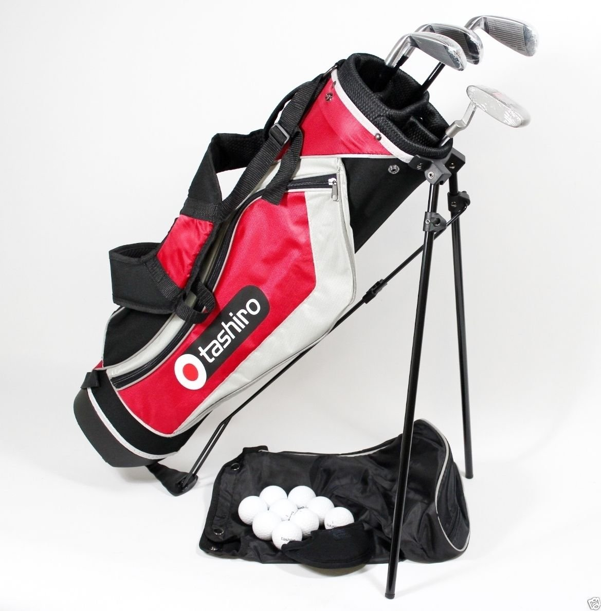 Juego de palos de Golf Junior + bolsa + pelotas de TASHIRO 9 ...