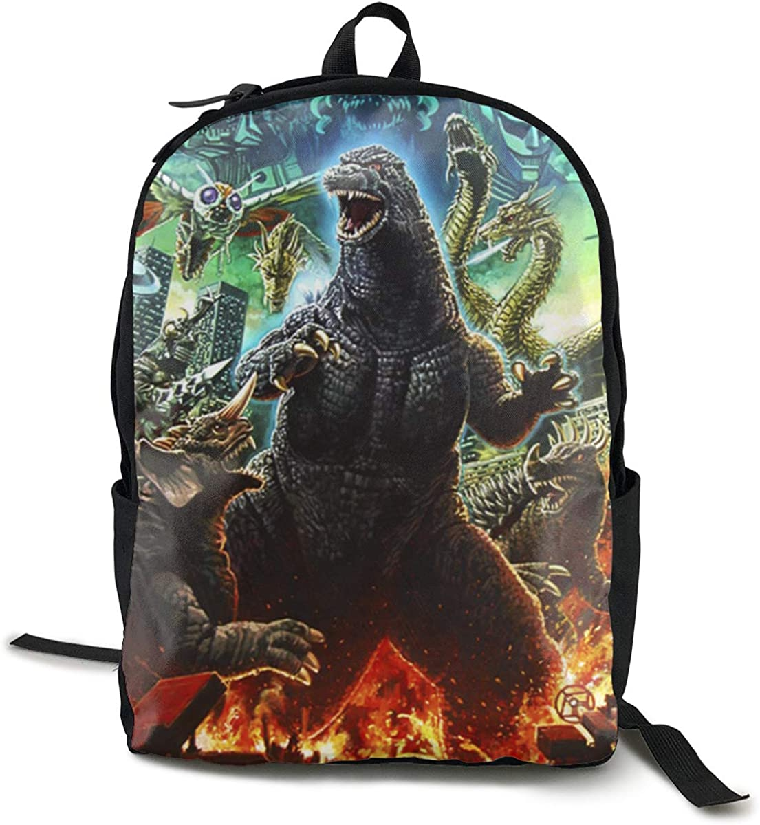 THORP.JENELLE Special God-Zilla Outdoor Youth Unisex Backpack