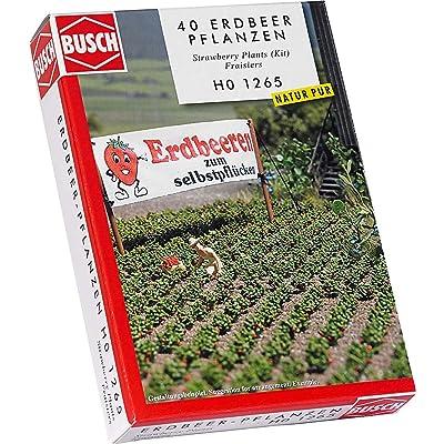 Busch 1265 Strawberry Plants 40/ HO Scenery Scale Model Scenery: Toys & Games