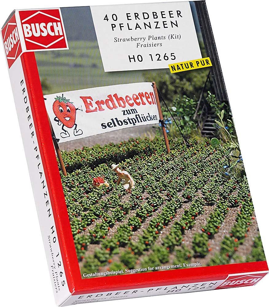 Busch Environnement - BUE1265 - Modélisme - Fraisiers Terrains