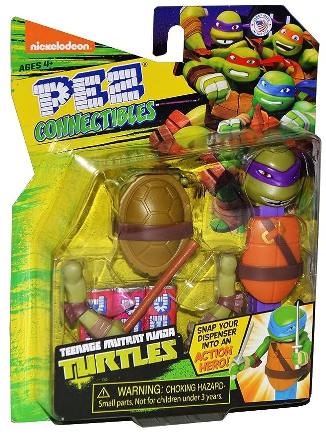 Pez Teenage Mutant Ninja Turtles TMNT connectible ...