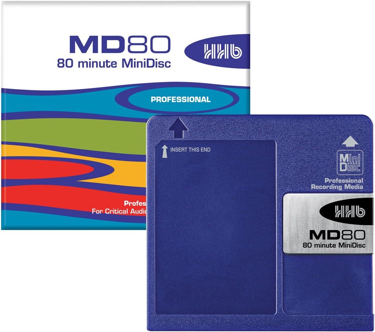 HHB MD80 80 Minute MiniDisc (5 Pack)