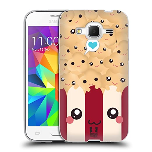 3 opinioni per Head Case Designs Popcorn Kawaii Serie 1 Cover Morbida In Gel Per Samsung Galaxy