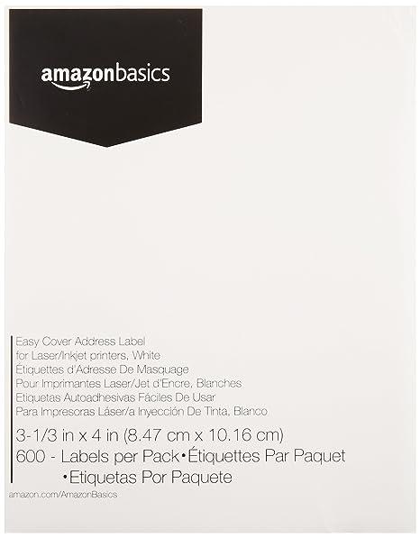 Amazon.com: AmazonBasics - Etiquetas multiusos para ...